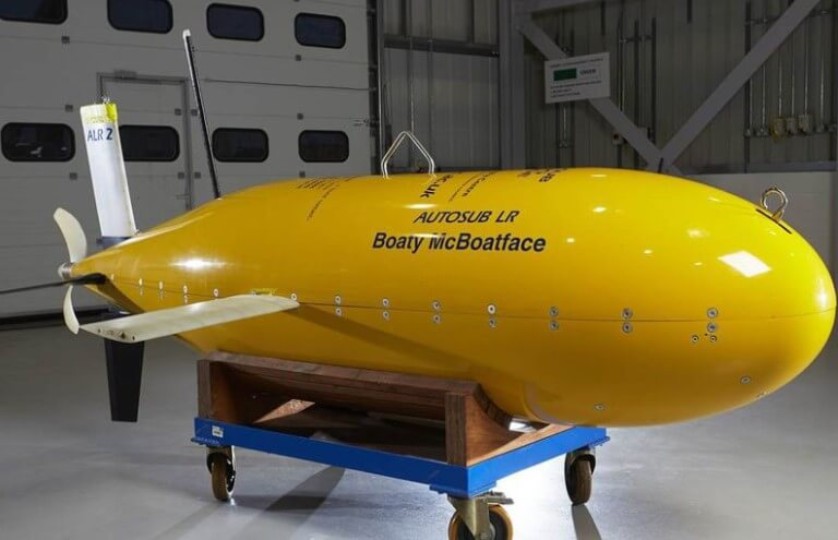 Say hello to Boaty McBoatface and our other robot heroes U.K. NOC