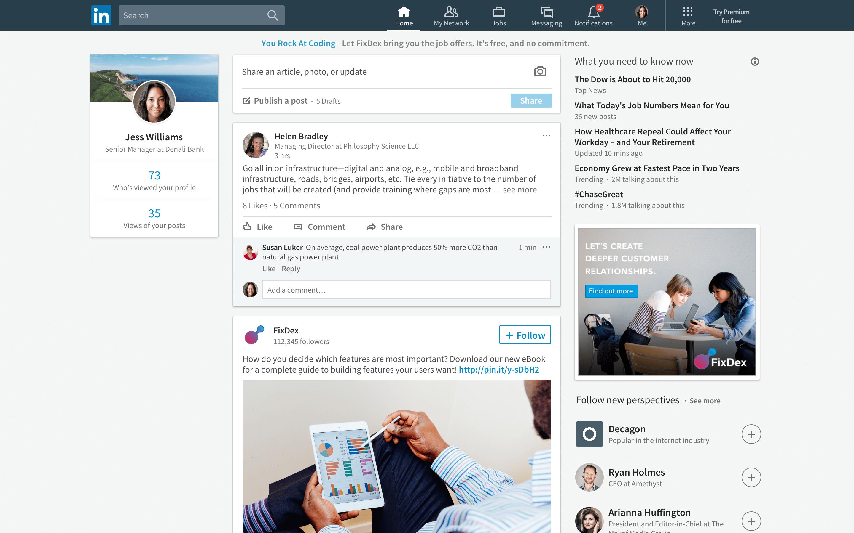 LinkedIn is tweaking its algorithm