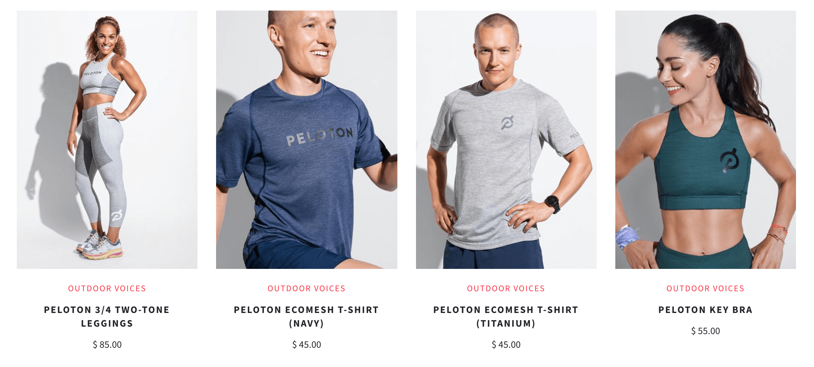 Outdoor Voices made jogging in a dress a thing all on its own. So why is it launching a 12-item capsule collection with Peloton?