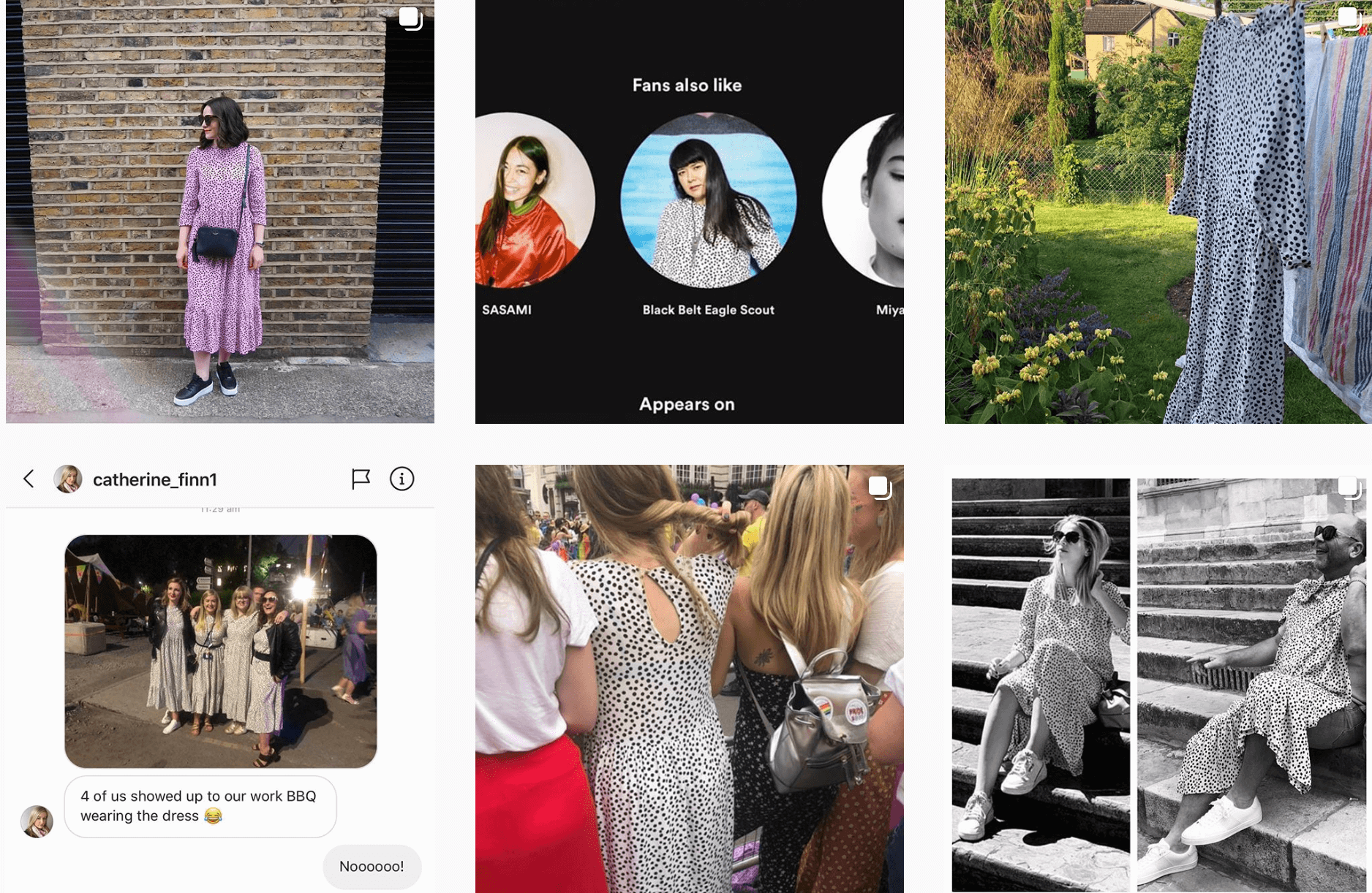 Instagram accounts that track sightings of popular clothing items in the wild are on the rise. @hot4thespot