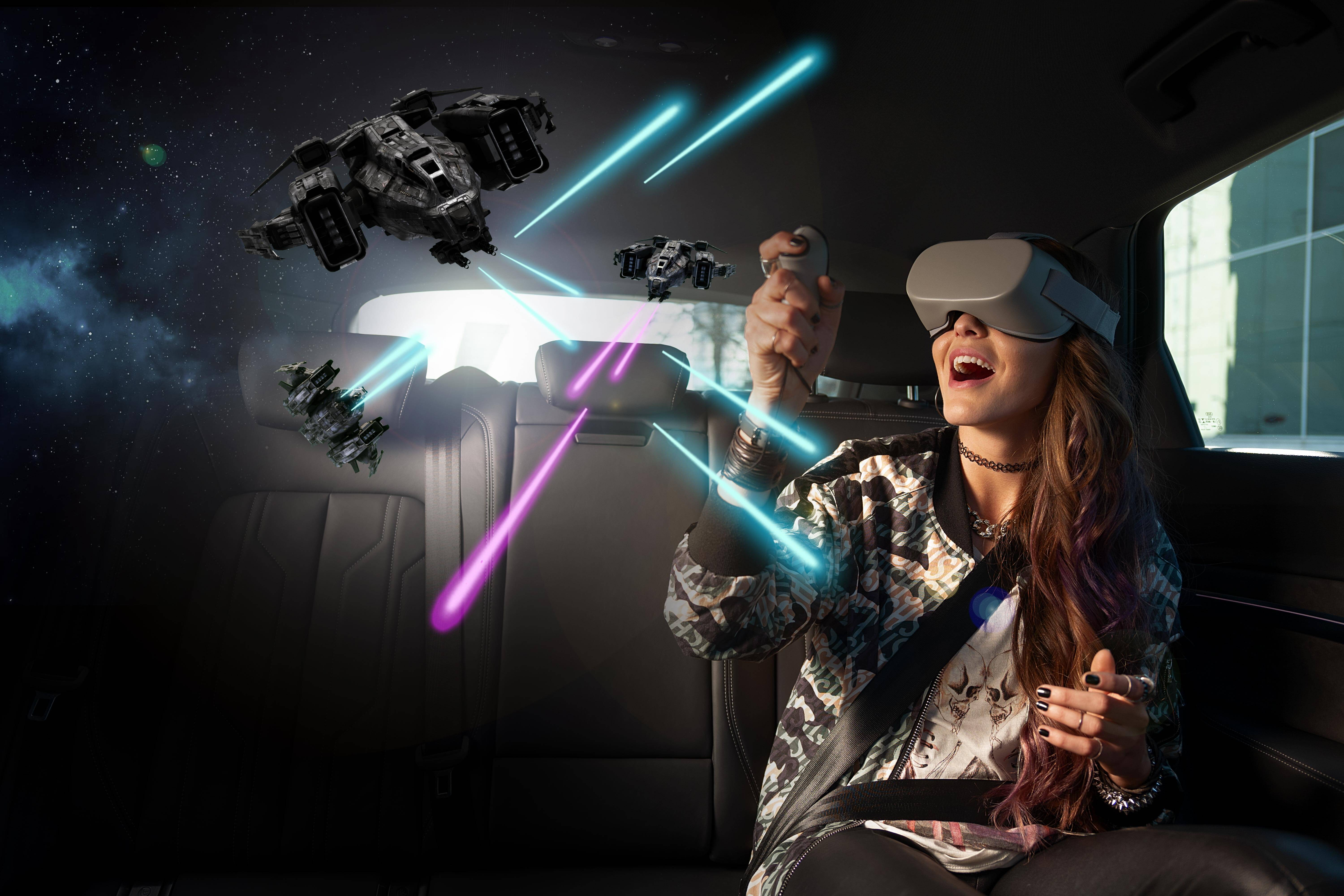 Your first thought on using VR in the car is probably nausea^2 Holoride