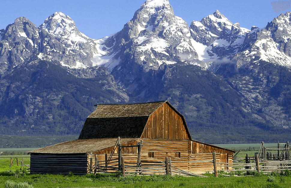 President Trump has treated Powell like he wouldn't sell him Greenland Jon Sullivan, PD Photo., Barns grand tetons