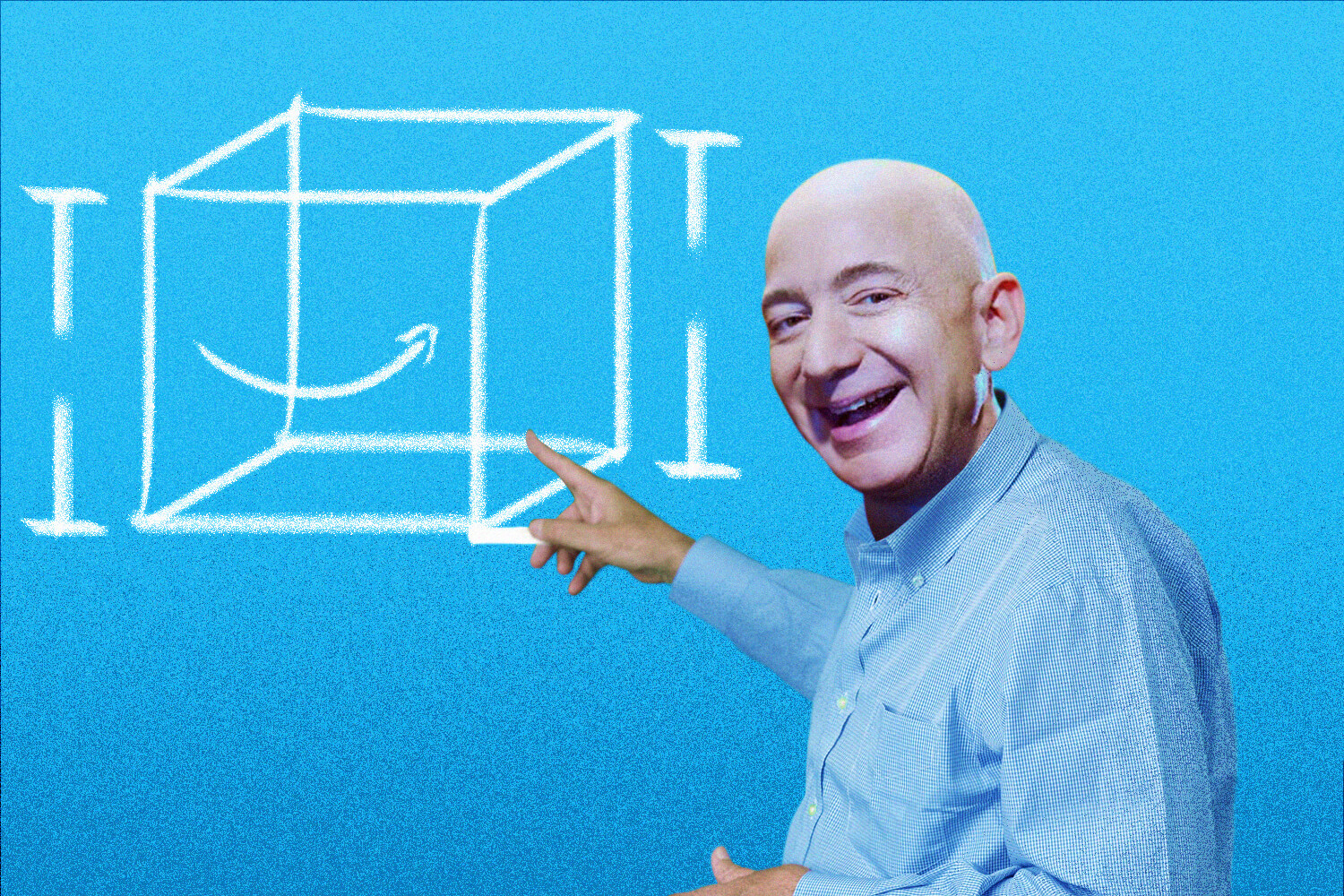 Clean up in aisle Bezos  Francis Scialabba