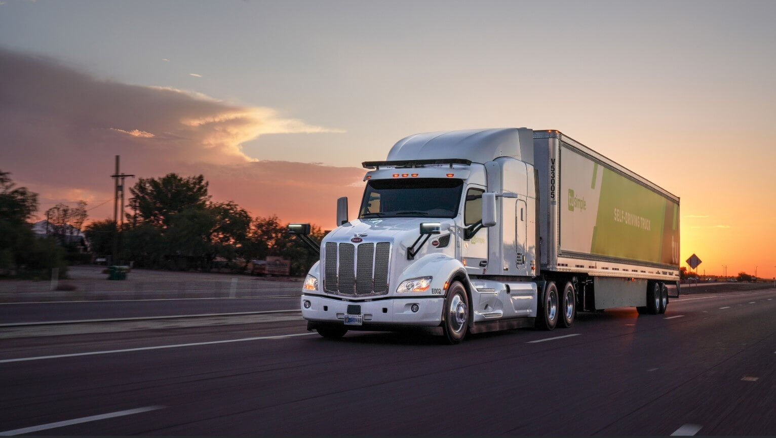 To Keep Truckin', This Autonomous Unicorn Needs Cash TuSimple