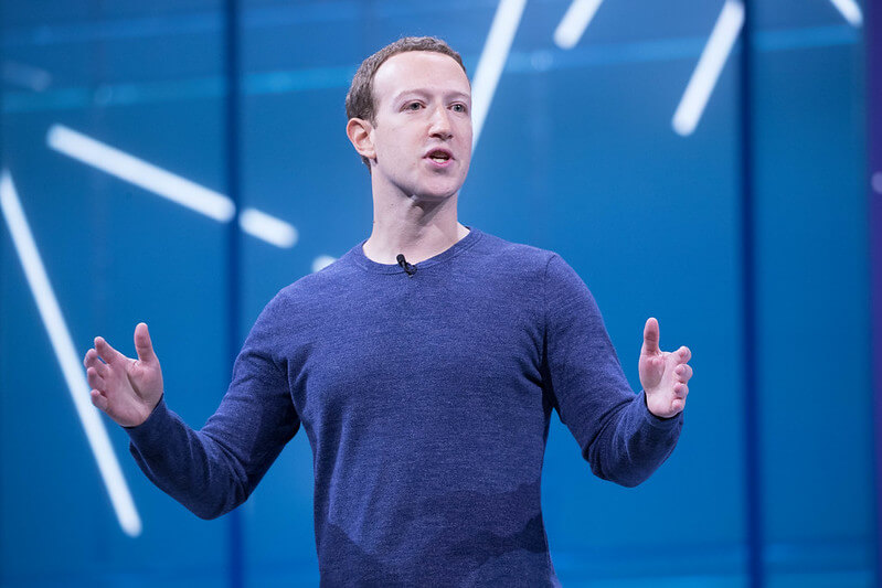 """We've paraphrased some of Zuck's musings on a wide range of topics """"Mark Zuckerberg F8 2018 Keynote""""(CC BY 2.0)byAnthony Quintano"""