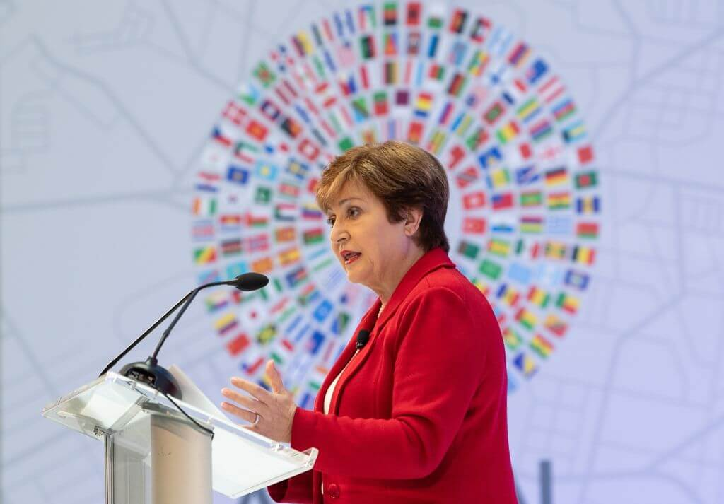 The World Bank chief downgraded the downgrade  NICHOLAS KAMM/AFP via Getty Images