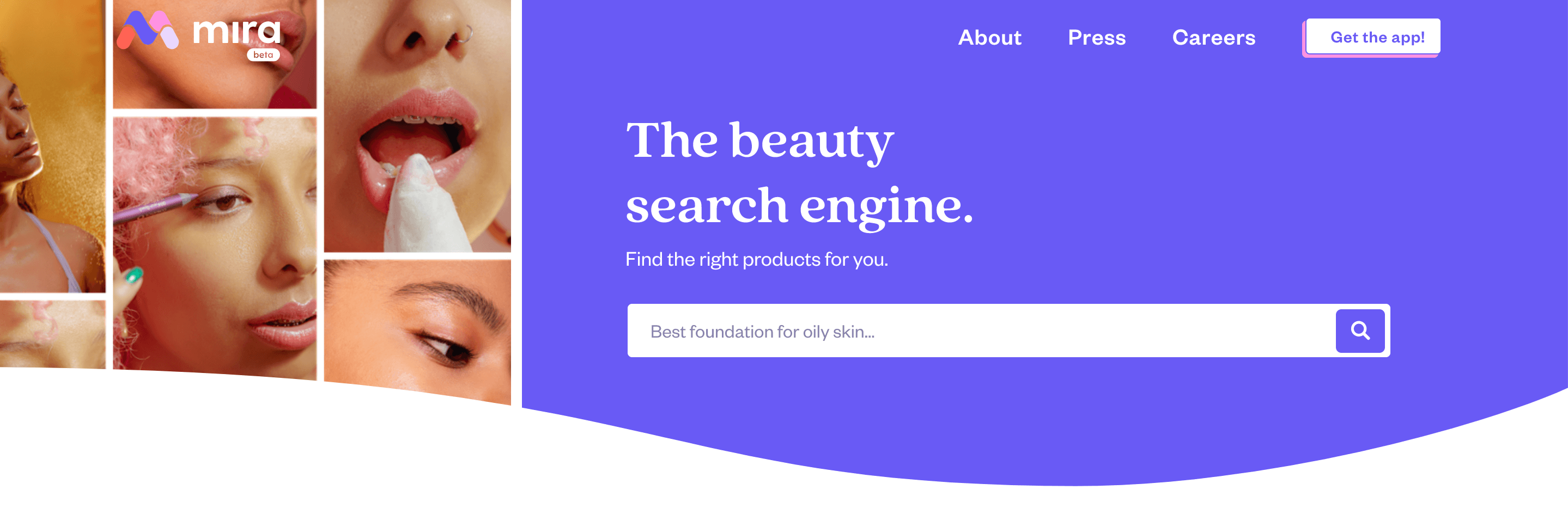 Mira has personalized search results and product reviews...just like Google Shopping. AskMira.com