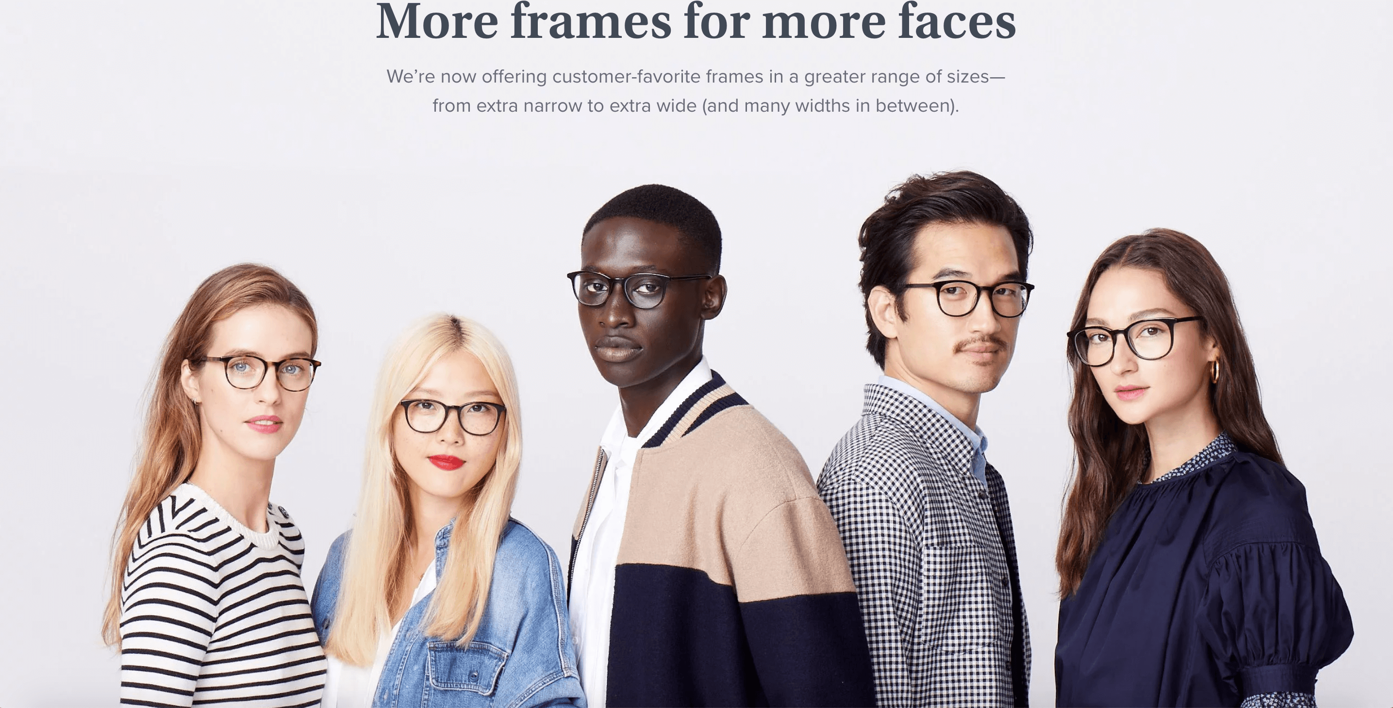Now everyone can look like an art history major. Warby Parker