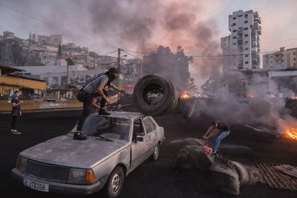 Lebanon has reached an economic crisis  Sam Tarling/Getty Images