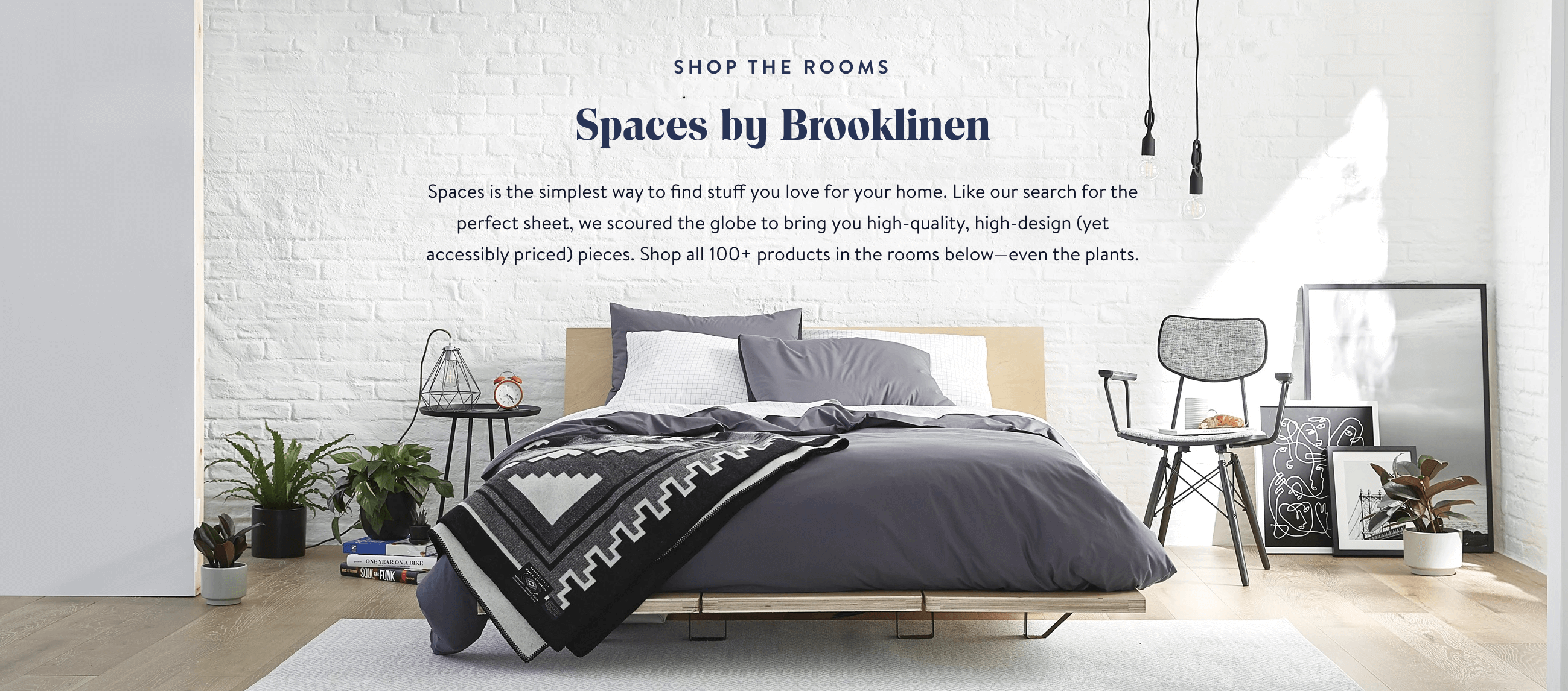 Launching new brands is harder than folding a fitted sheet, so Brooklinen's taking the teamwork route. Spaces by Brooklinen