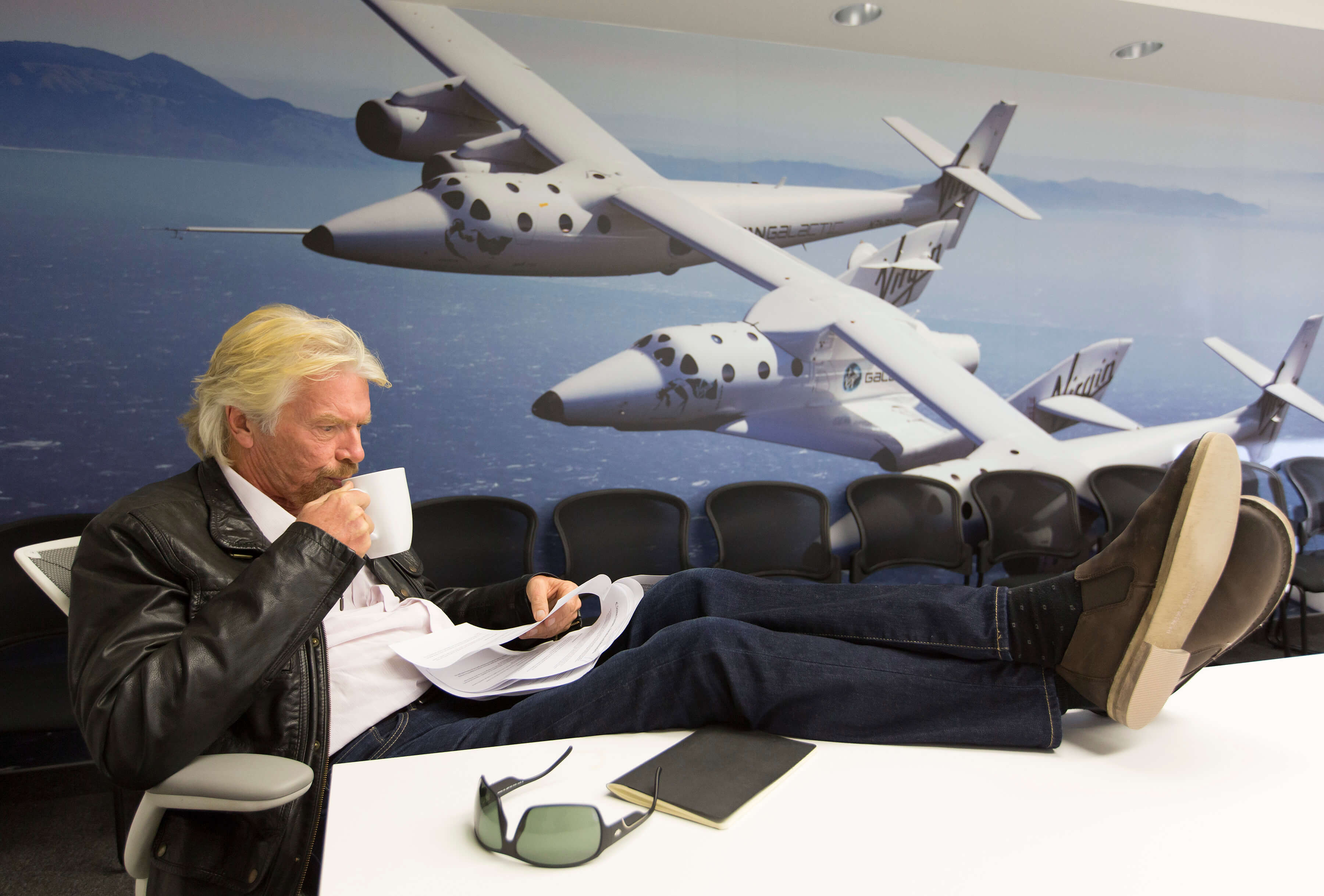 """Forget the sappy """"gazing at the stars"""" part, let's talk about the financial engineering. Virgin Galactic"""
