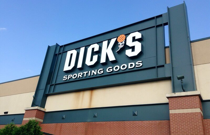 "Some execs are trading their corner offices for campaign buses  ""Dick's Sporting Goods"" (CC BY 2.0) by JeepersMedia"