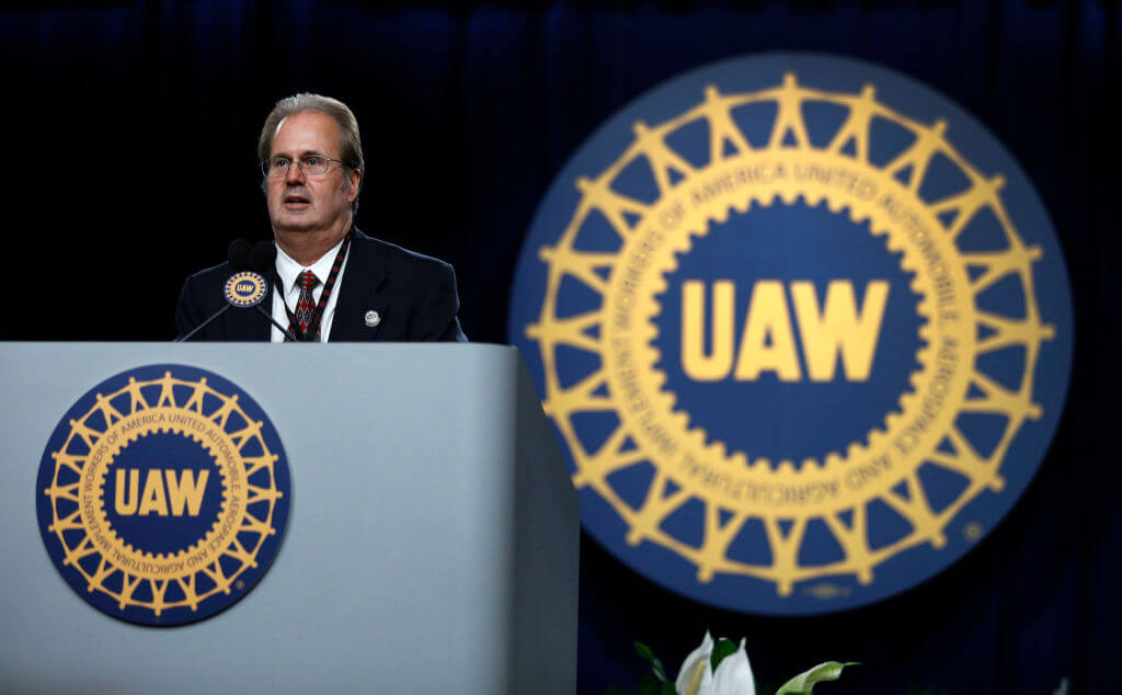 If UAW leaders pop any bottles in celebration, they'd better be André  Bill Pugliano/Getty Images