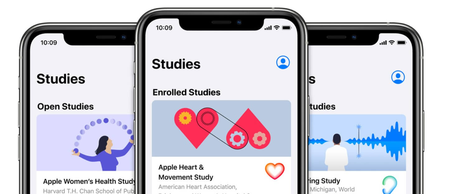 Apple is launching studies for women's health, hearing, and heart and movement Apple