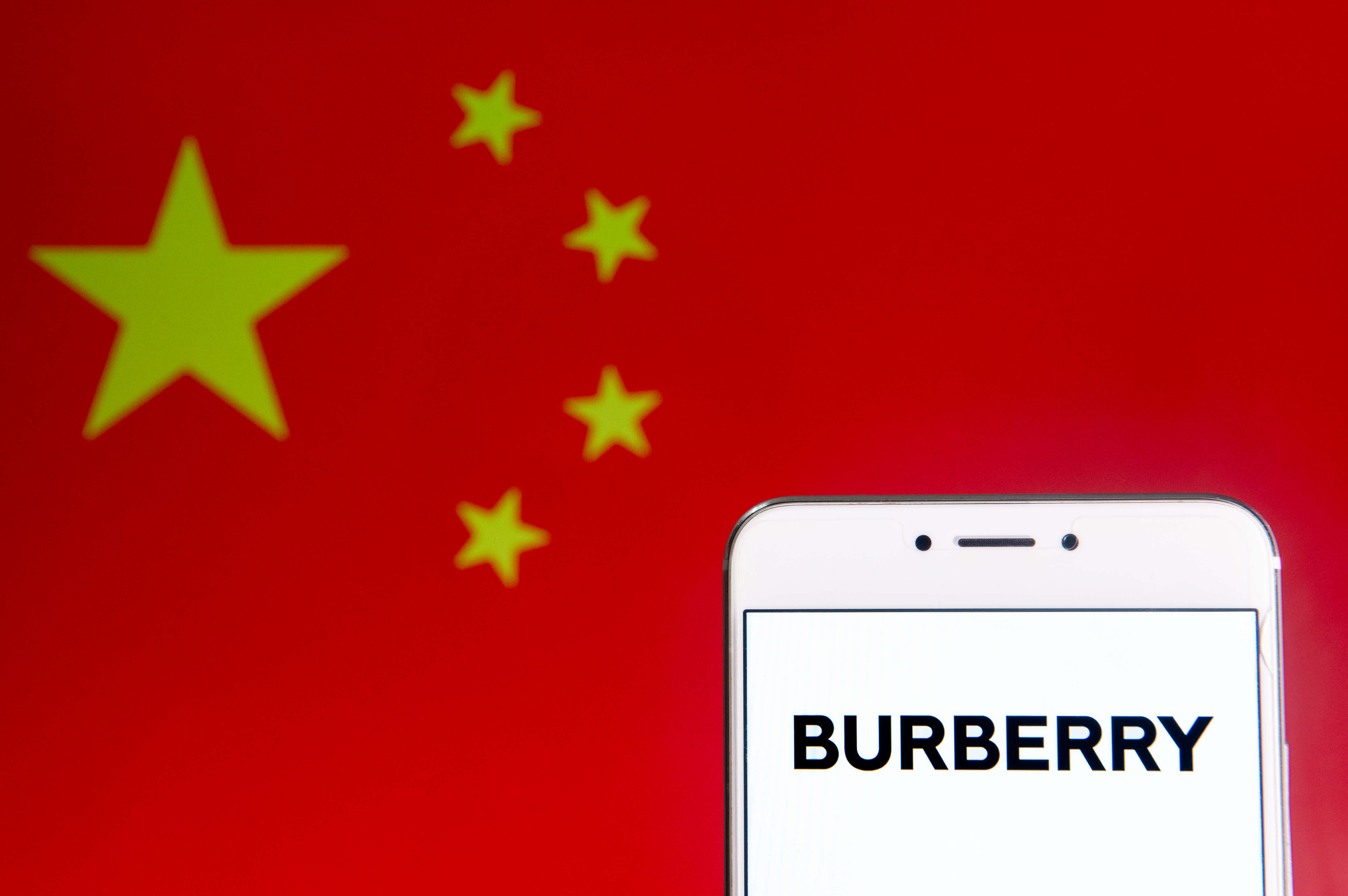 Can Tencent help Burberry reach WeChat's 1 billion+ users? Getty Images/ SOPA Images