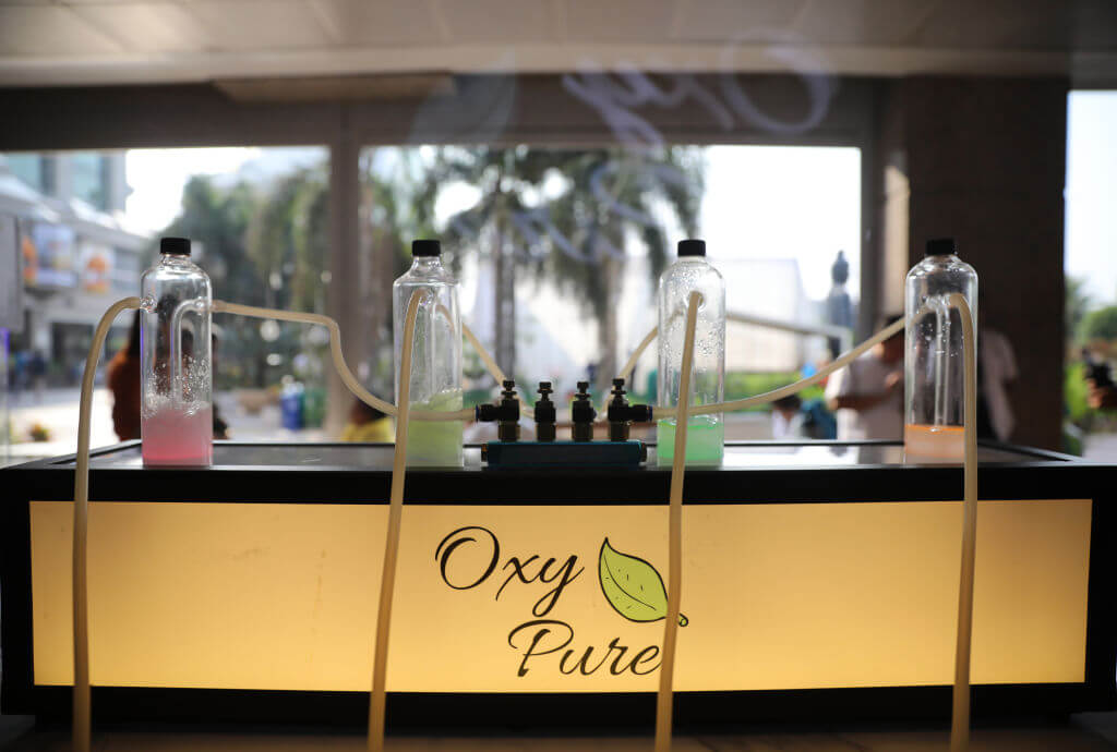 flavors at Oxy Pure