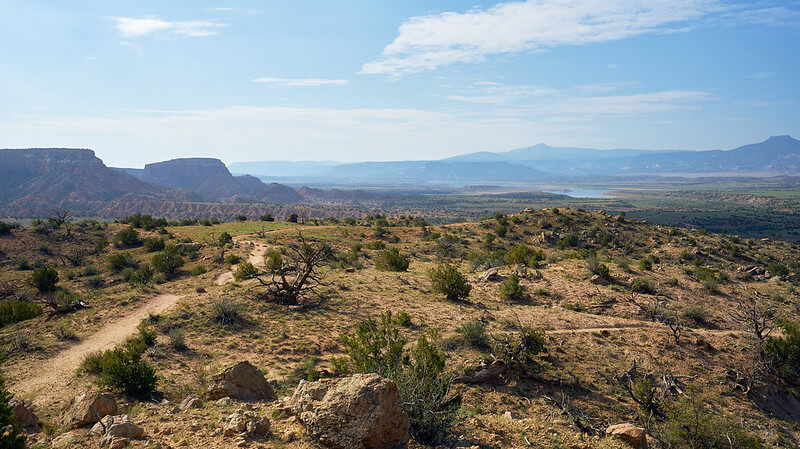 """New Mexico is now third in the country for oil production """"Abiquiu, New Mexico"""" (CC BY-SA 2.0) by szeke"""