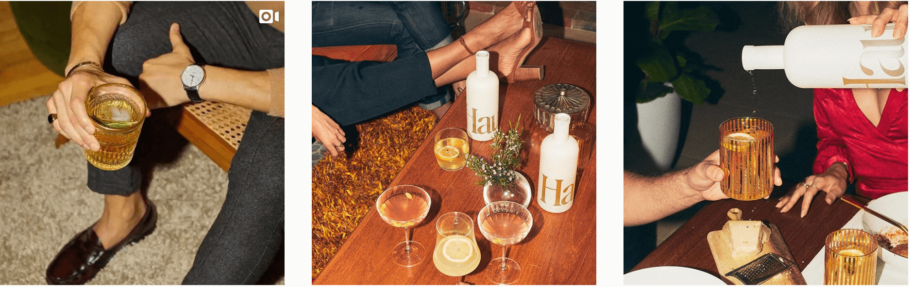Her plan starts and ends with aperitifs. @drinkhaus