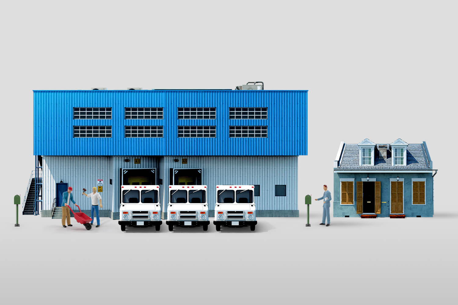 There can be no same-day delivery without warehouses to support it Francis Scialabba