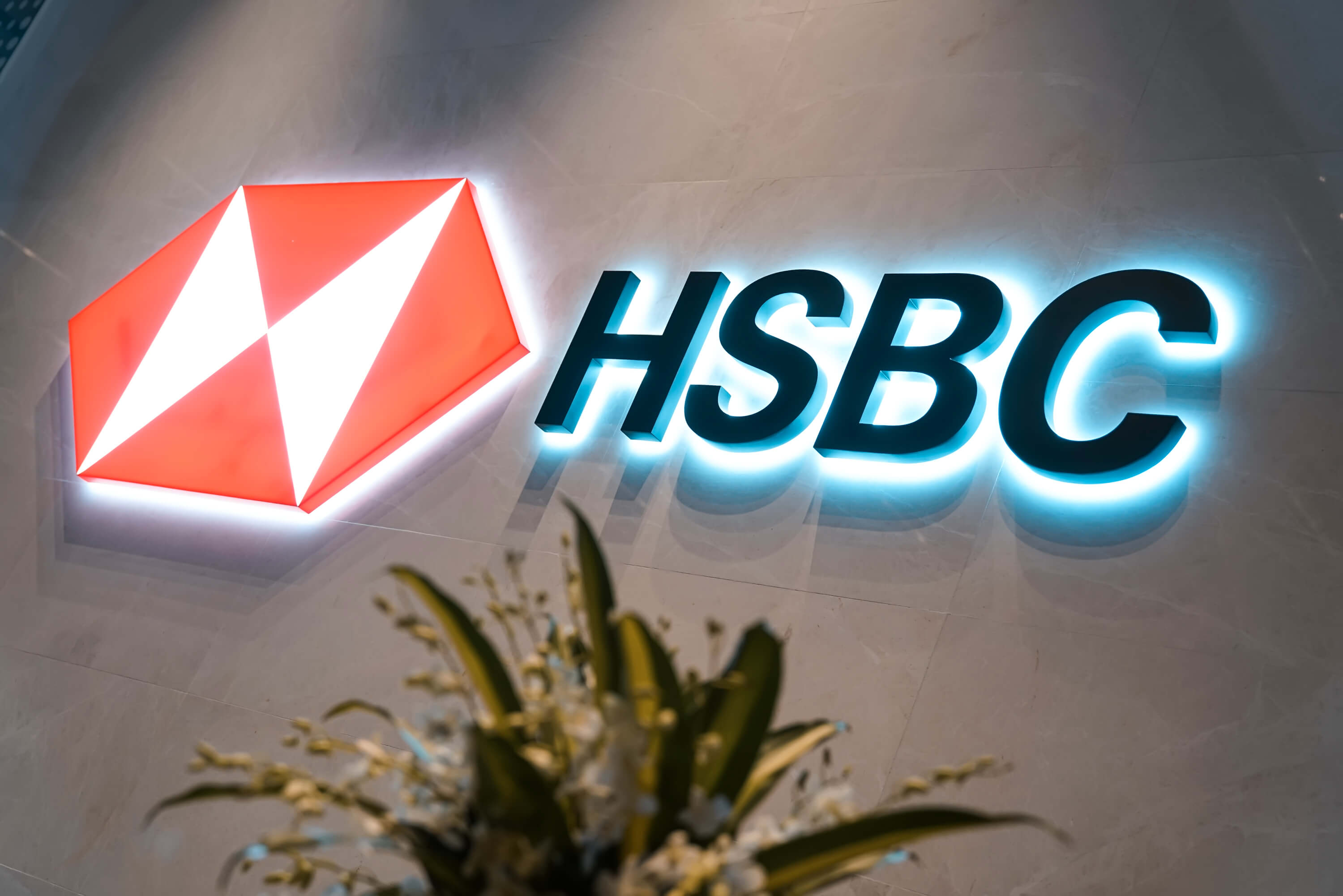 It's too soon to say whether this will lead to serious cost savings HSBC