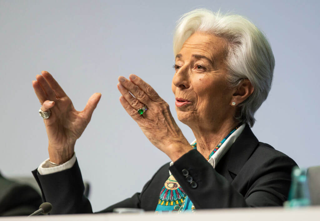 Lagarde served the euro bloc a hearty amuse bouche to set up her eight-year term Frank Rumpenhorst/picture alliance via Getty Images