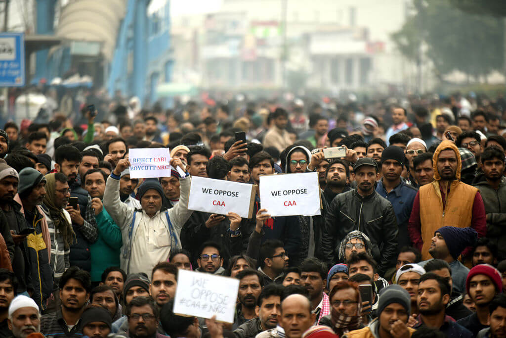 The shutdown came in response to protests currently raging all over the country Amal KS/ Hindustan Times via Getty Images