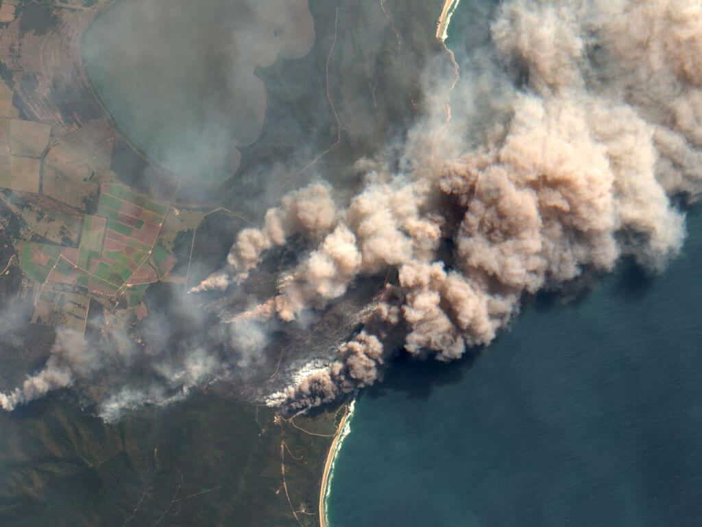 Australian enacted a weeklong state of emergency over New South Wales bushfires Orbital Horizon/Copernicus Sentinel Data/Gallo Images via Getty Images