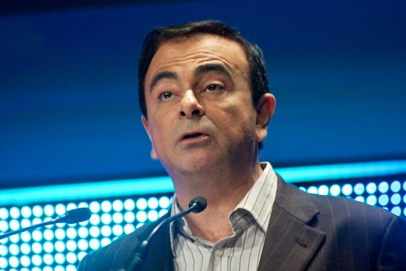"The Japanese courts seem questionable to a lot of people ""Carlos Ghosn, Chairman & CEO, Renault S."" (CC BY-ND 2.0) by Adam Tinworth"