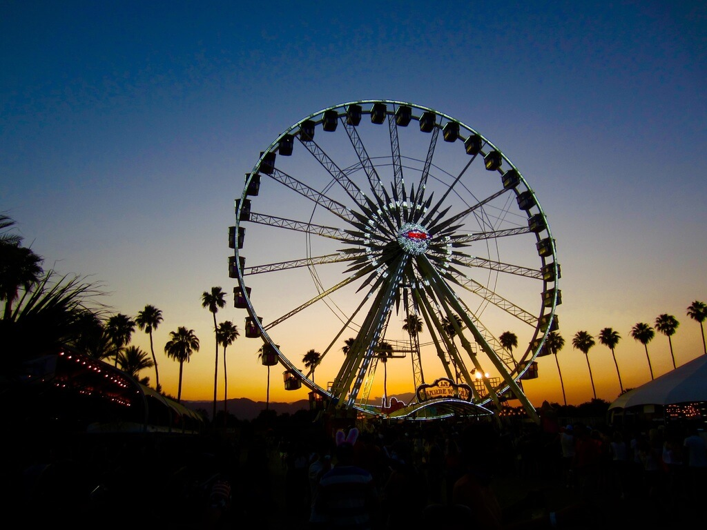 Coachella Ferris wheel