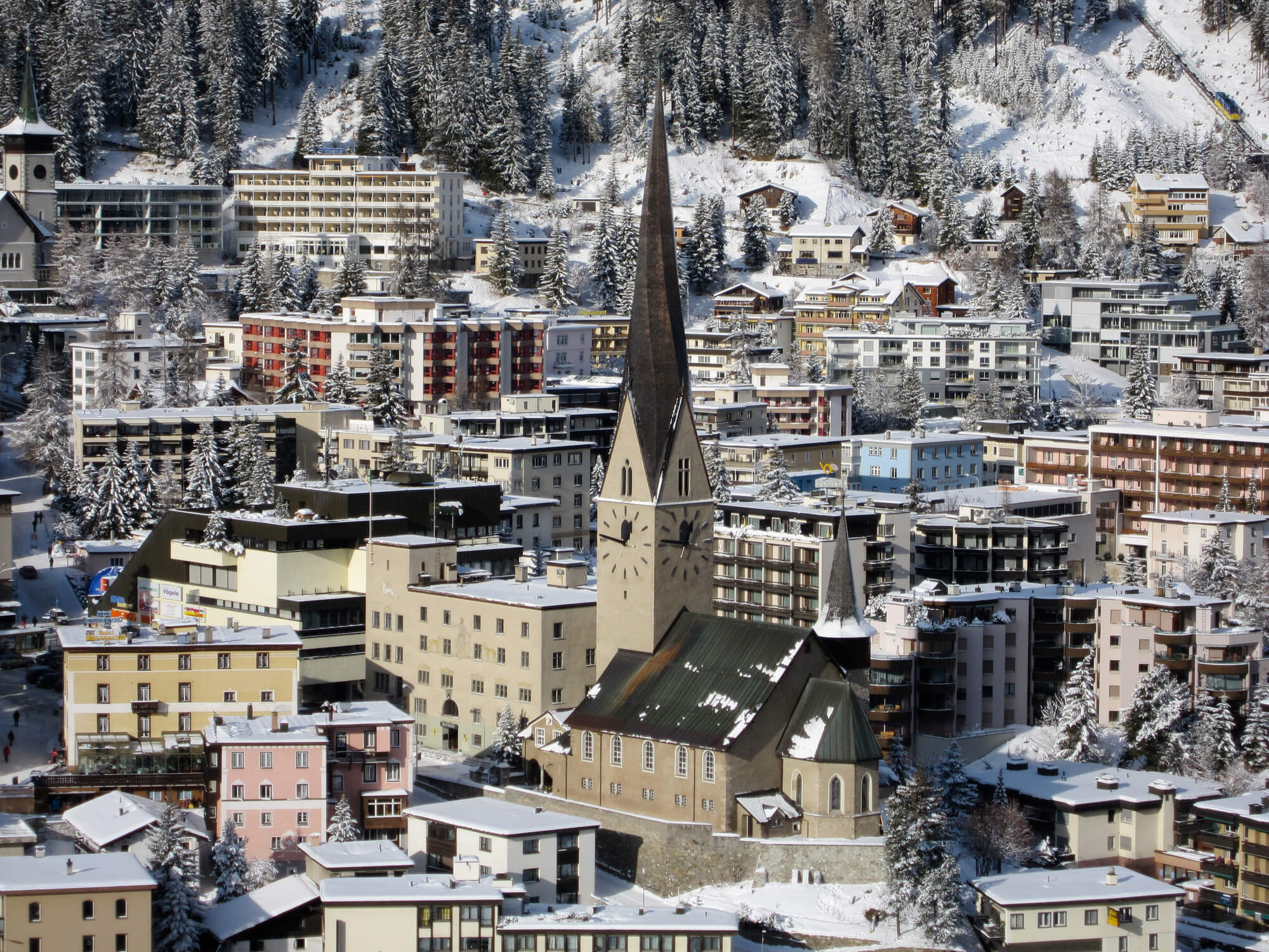 """The Davos theme this year is """"Stakeholders for a Cohesive and Sustainable World"""" Getty Images"""