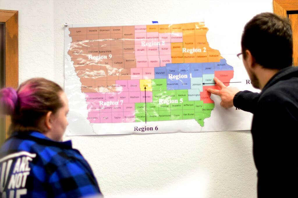 Iowans will head to their local libraries, schools, and gym basements to cast the 2020 election's very first votes Mark Makela/Getty Images